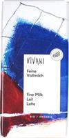 Suklaalevy Vivani maitosuklaa 100 g, luomu