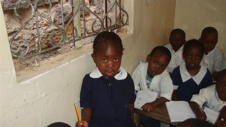 Jolyne Anyoso Wanda in her school