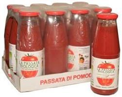 Tomaattisose 690 g, luomu
