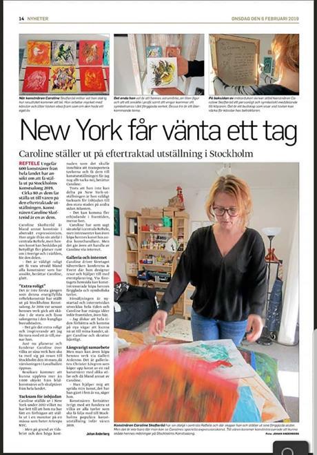 Kostnär/ Artist Caroline Skofteröd