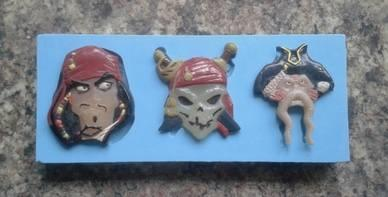 Silikonform Pirate Collection