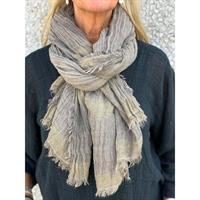 Three M Scarves, Taupe