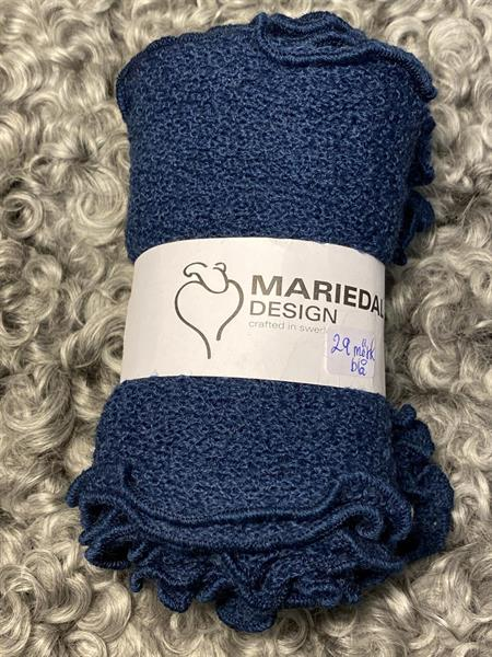 Smal sjal mossa Mörk blå (29) Mariedal design
