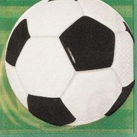Servietter Fotball 16stk