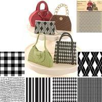 CK Texture Mat sett m/6 ulike mønster