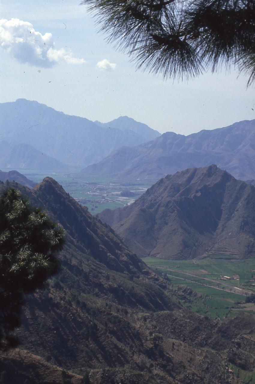Utsikt fra Swat-dalen