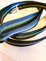 Baggen Kanalkoppel 2,5mmx180cm Svart/Grön