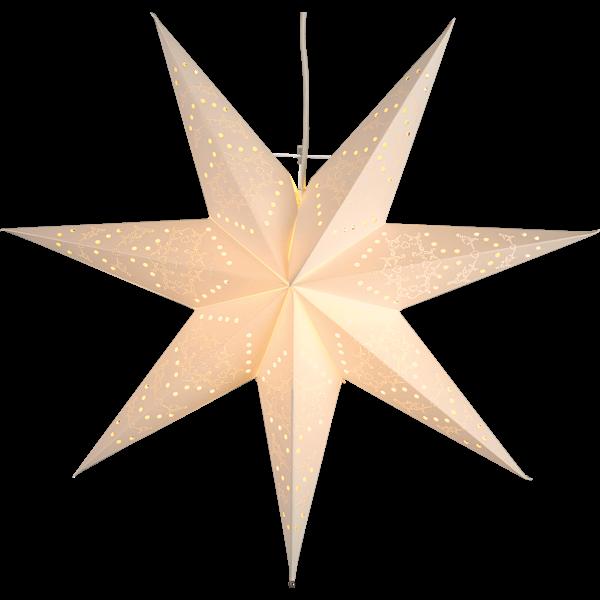 Julstjärna Sensy Star 55cm vit Star Trading
