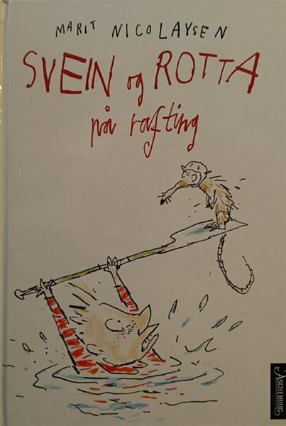 Svein og rotta på rafting