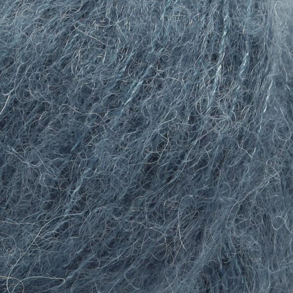 Brushed Alpaca Silk Stålblå