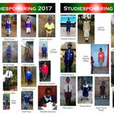 Some of the sponsored students during 2017