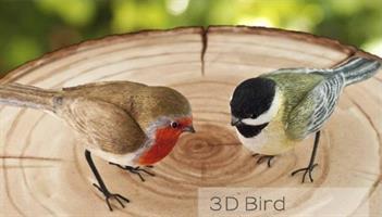 Silikonform FPC 3D Bird