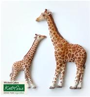 Silikonform Giraff mor og barn KS