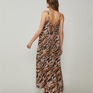 Summum Woman Dress Zebra Rose, Ash Rose