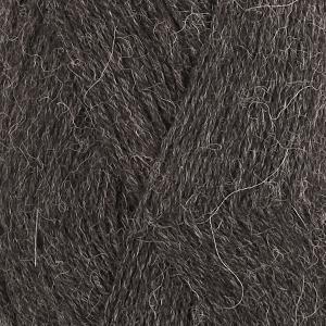 Alpaca Mørk grå