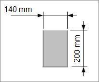 Kok/Sous-vide påse 140x200 mm