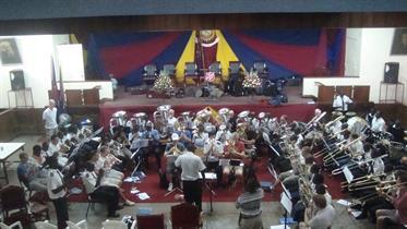 Massed Bands at Nairobi Central Church Hall
