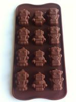 Silikonform sjokoladefigurer 1