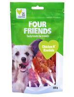 Four Friends Chicken n' Rawhide 100g