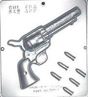 Plastform Pistol Spill m/kuler