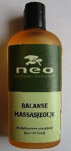 Balanse massasjeolje 125 ml.