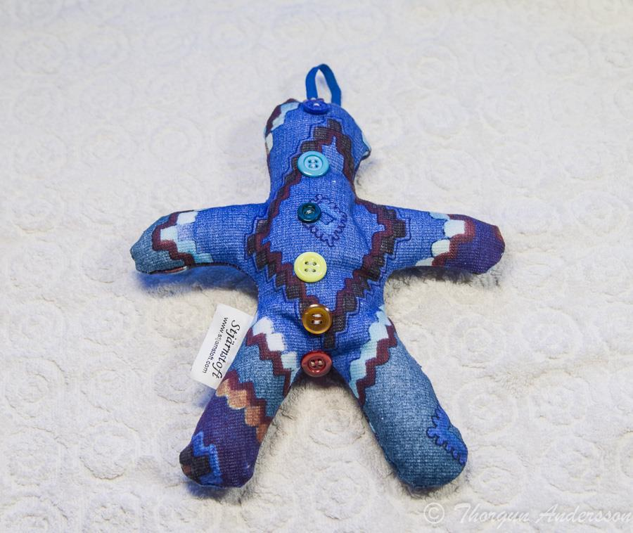 Reiki-Doll, healing-docka Blå