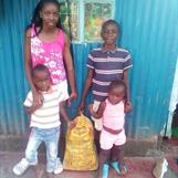 Lafrene & Lawrence with younger brother and sister