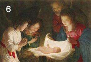 Pyhä perhe-kortti
