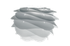 Taklampa Carmina mini misty grey Umage