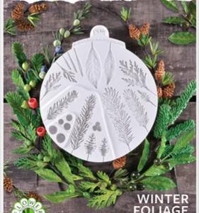 Silikonform Wintergrønt Blader KS