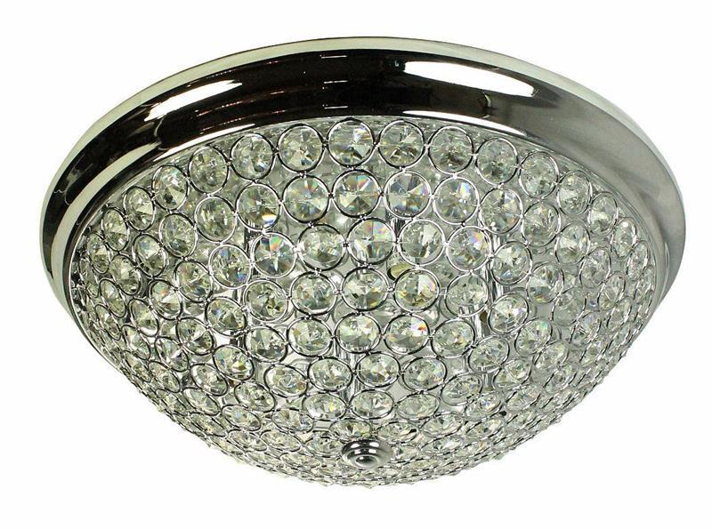 Plafond Kristall 46cm Oriva
