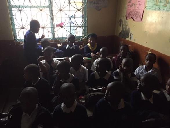 Class from Havilla Childrens School