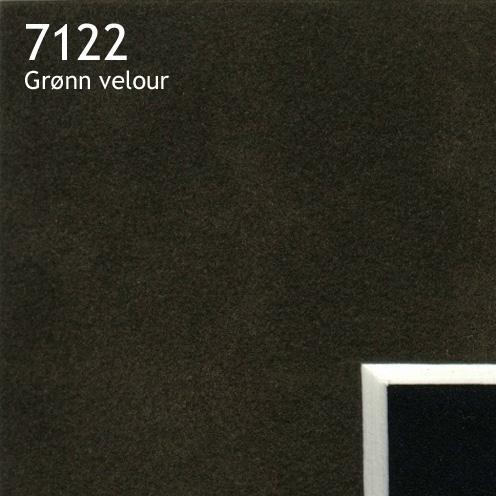 7122 grønn velour