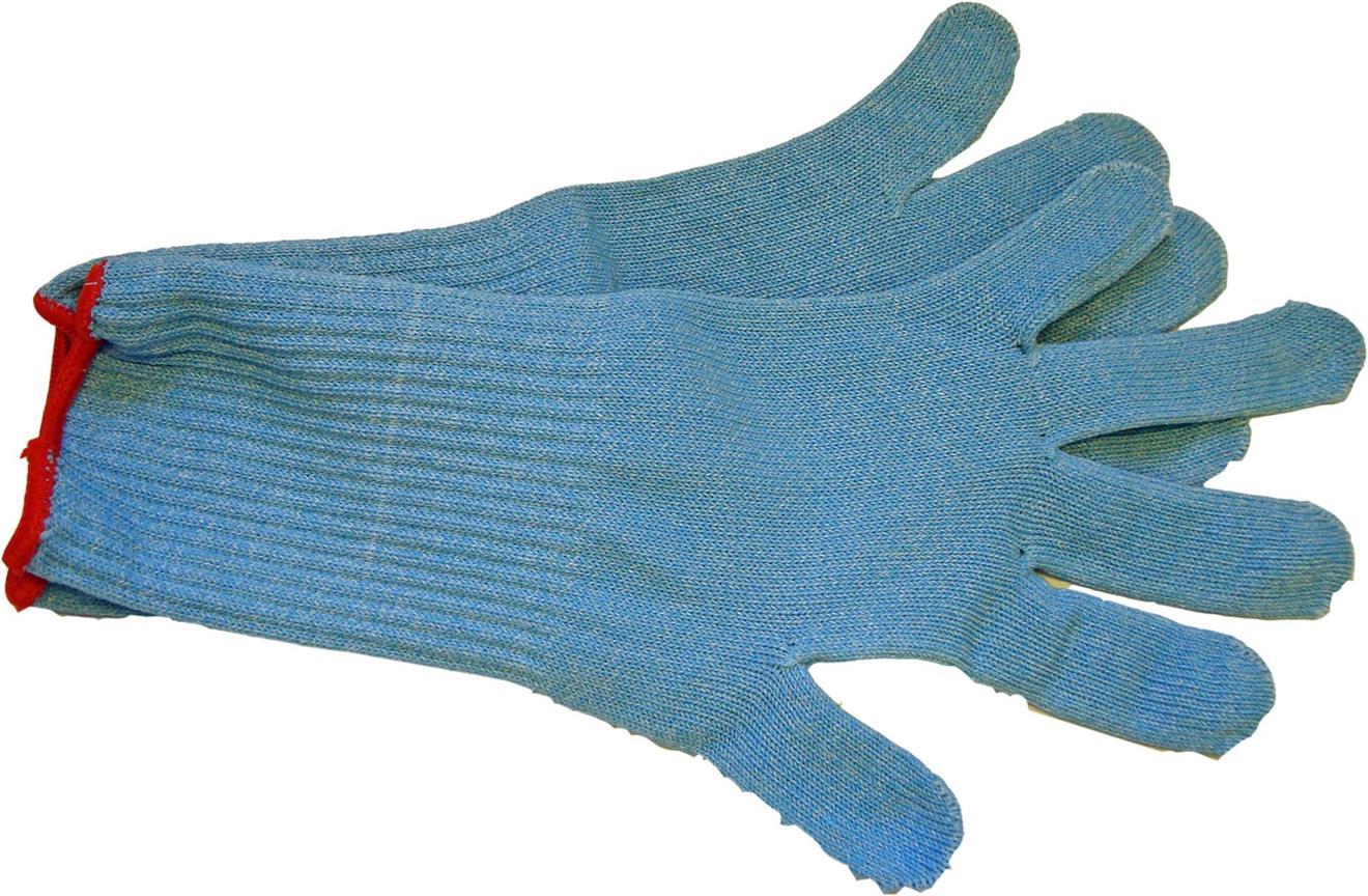 Skyddshandske Textil S vit