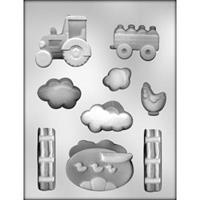 Plastform CK Traktor m/tilbehør