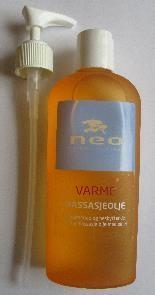 Massasjeolje Varme 250 ml Klassisk