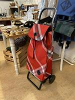 Shoppingvagn Rolser 2+2 Boro röd