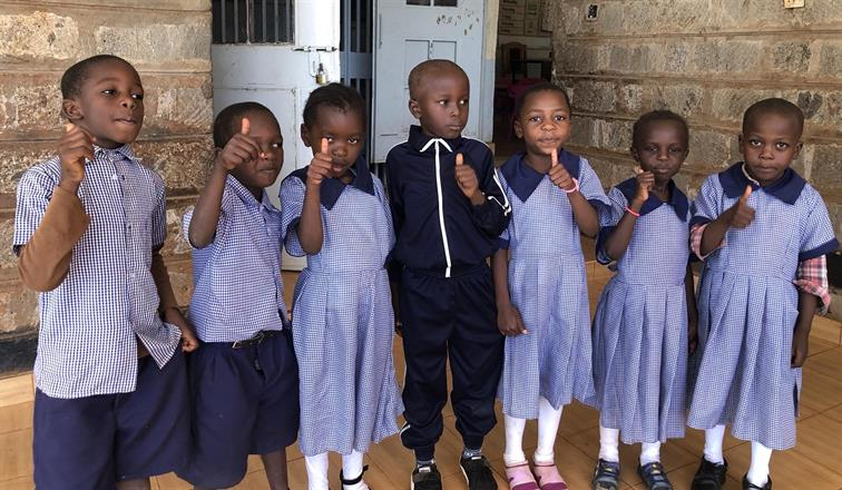 Our children at Kibera Nursary School