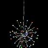 Dekoration Firework hängande multifärgad Star Tr.