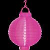Solcell Lantern rosa Star Trading
