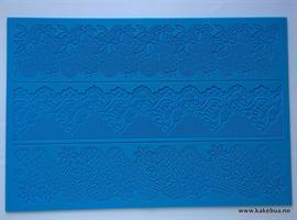 Lace Mønstermatte 15 Bordmotiver 3stk