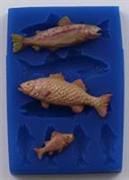 FI Silikonform Fisk sett (A206)