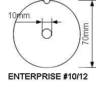 Enterprise #12 INOX