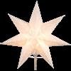 Julstjärna Sensy Star 34cm Vit Star Trading