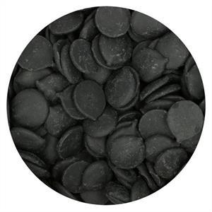 Sjokolade Candy Deco melts 250gr, Sort FC