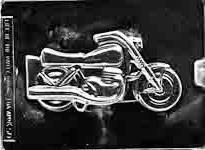 Plastform Motorsykkel LP