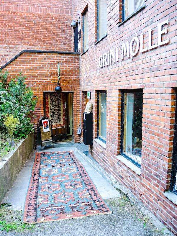 Inngang Galleri Grini Mølle