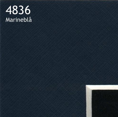 4836 marineblå