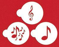 "DS ""Musical"" Cookie stencil"