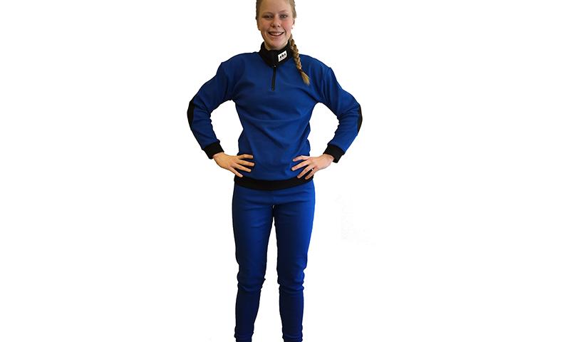 ABS undertøysett blå